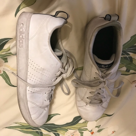 buy online 42582 ee9af adidas Shoes - adidas neo advantage clean vs white size 8.5 women